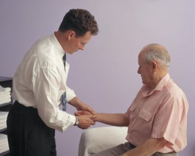 arthritis patient examination and treatment