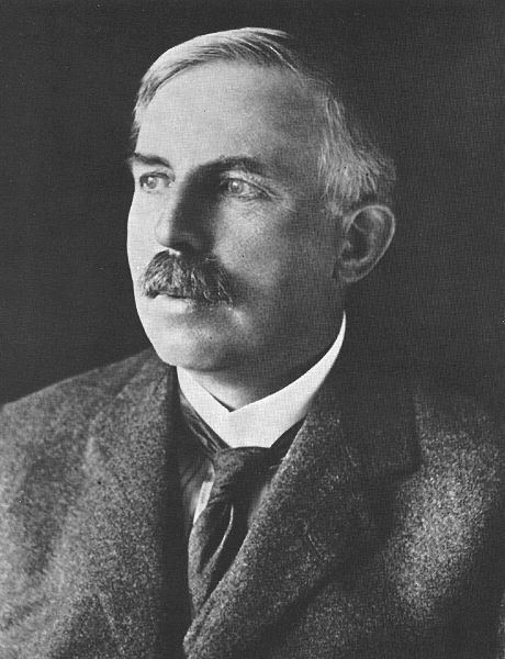 ernest rutherford the gold foil The experiment to probe the structure of the atom performed by hans geiger (geiger counter) and ernest marsden in 1909, under the direction of ernest rutherford at.