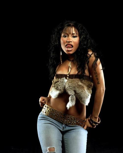 I go back to my favorite example, American rapper Nicki Minaj.
